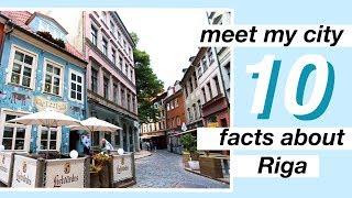 Meet My City // 10 Facts About Riga, Latvia | Bea Jonite
