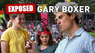GARY BOXER EXPOSES CLIMATE CHANGE PINHEADS!