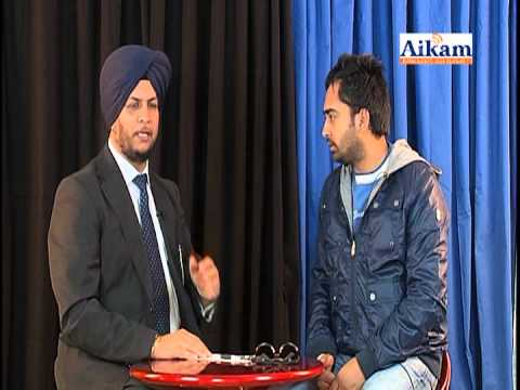 Sherry Maan Interviewed By Amarjit Rai (aikam Tv) video