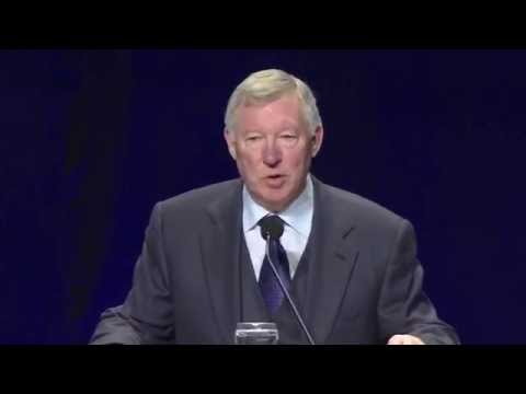 Sir Alex Ferguson Speaks at the 2015 NSCAA All-America Luncheon