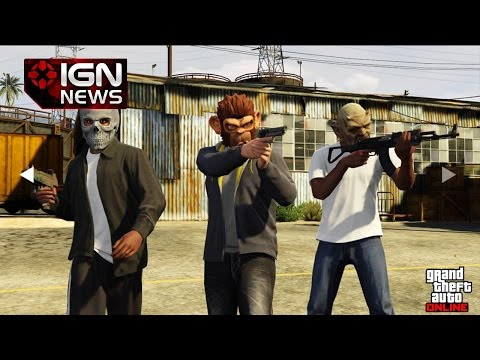 GTA 5 Online Heists Images Leak, Possible New Weapons, Vehicles - IGN News