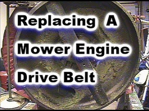Lawn mower Drive Belt Replacement on Snapper Mower: Model 214X1PR