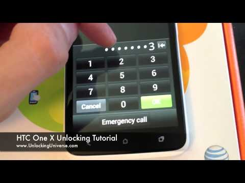 How to Unlock HTC One X for all Gsm Carriers using an Unlock Code