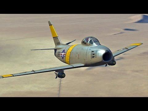 DCS F-86F Sabre release trailer
