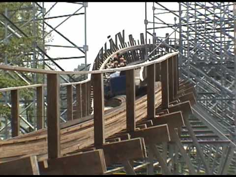 The Voyage Roller Coaster POV Holiday World