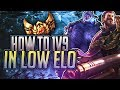 Lagu Tarzaned  HOW TO 1V9 IN LOW ELO  UNRANKED TO CHALLENGER HIGHLIGHTS!
