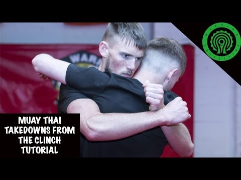 Muay Thai Takedowns From The Clinch Tutorial