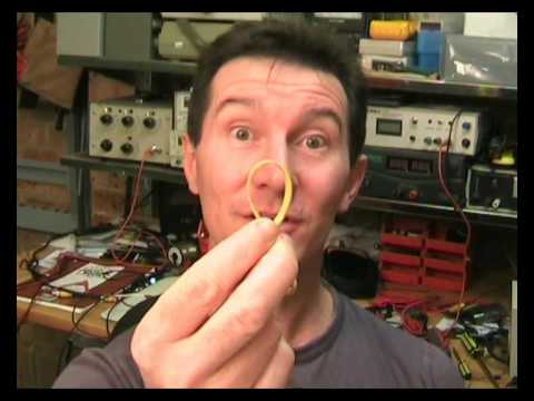 EEVblog #10 Part 1 of 2 - How a rubber band cost millions of dollars