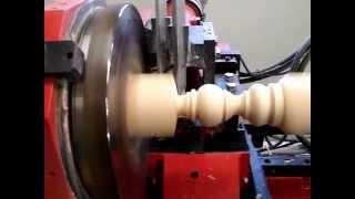 Cnc wood turning lathe perfect duplicates every time 01 08