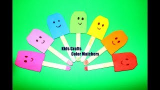 Home Activity: Color Matching Activity Game for kids