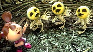 Zombie Dumb   좀비덤   Friends Of Tree   Hana Makes Three New Friends!   Kids Cartoon   Videos For Kids