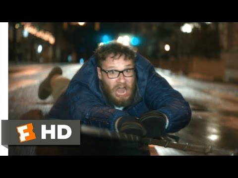 The Night Before (7/10) Movie CLIP - Sleigh Ride Car Chase (2015) HD
