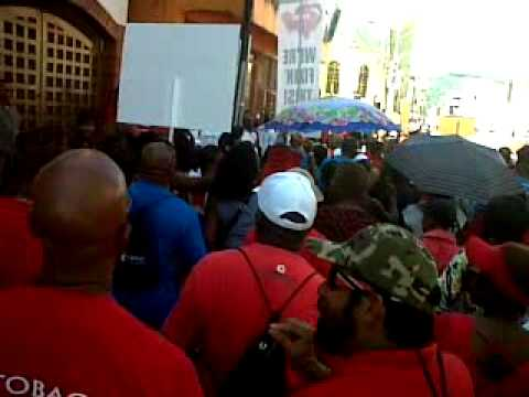 Trinidad & Tobago Protests against Jack Warner