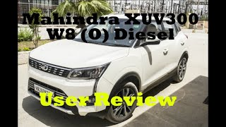 XUV 300 Diesel W8(O) Review | User Review | All Details