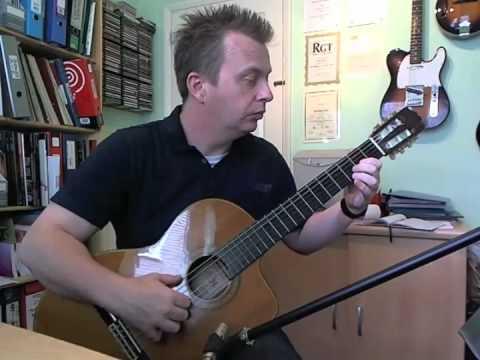 Carratera resbaladiza - Trinity Guitar Grade 3