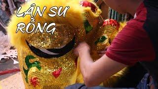 Bí mật ít người biết về Lân Sư Rồng và múa lân Trung Thu ở Sài Gòn