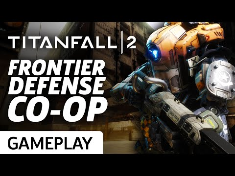 Titanfall 2 Frontier Defense Co-op On Rise Gameplay