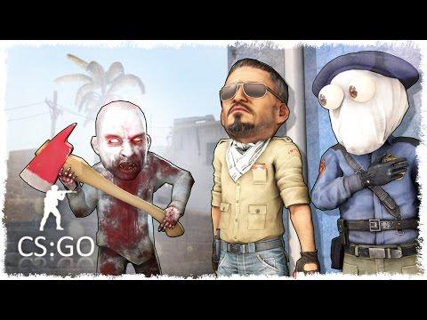 ОПАСНЫЙ ЗОМБИ ЗАЖАЛ В УГОЛ - CS:GO?! #90