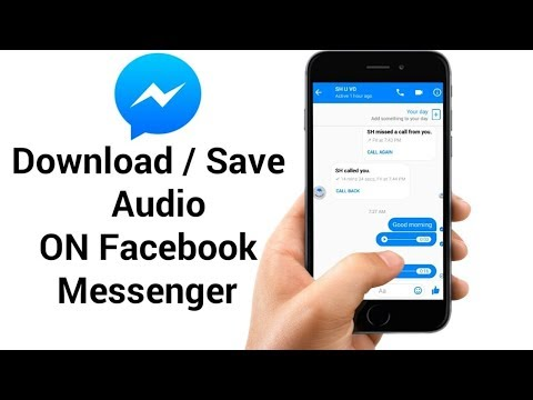 How To Download Audio on Facebook Messenger