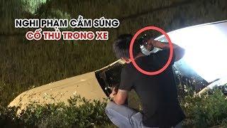 Toàn cảnh vụ vây bắt nghi phạm ma túy ôm súng, lựu đạn cố thủ trong ô tô ở Hà Tĩnh