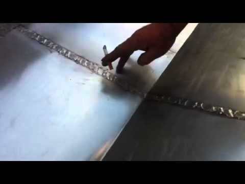 tutorel Technique sur soudure d'un zinc pour chêneau