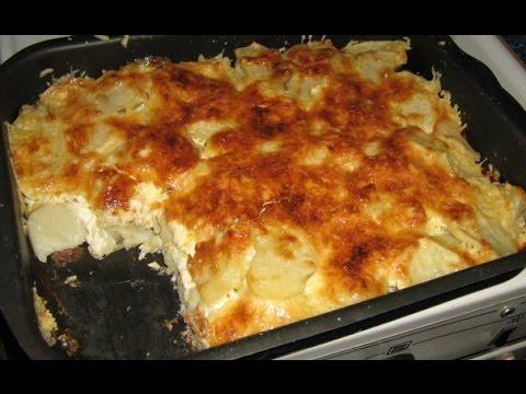 Картошка с мясом в духовке с майонезом и чесноком рецепт с фото пошагово