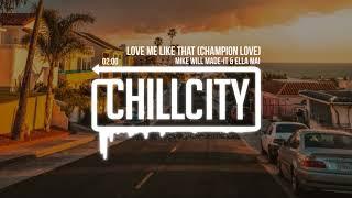 Mike Will Made It Ella Mai Love Me Like That Champion Love Creed Ii The Album