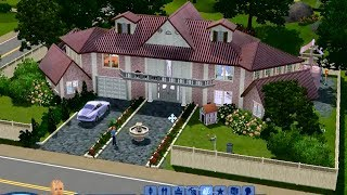 "Симс 3 Строительство дома ""Dollhouse""."