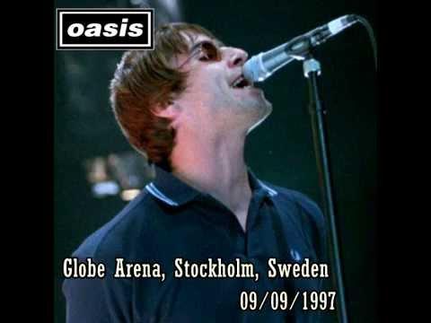 OASIS: Globe Arena, Stockholm, Sweden 09/09/1997