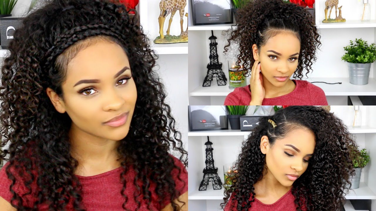 Easy summer hairstyles for curly hair