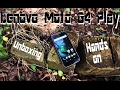 Lenovo Moto G4 Play Unboxing Hands On German SKNK mp3