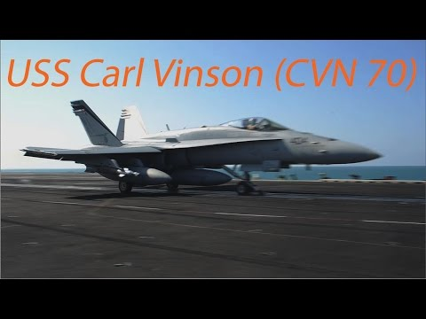 USS Carl Vinson launches aircraft on Thanksgiving