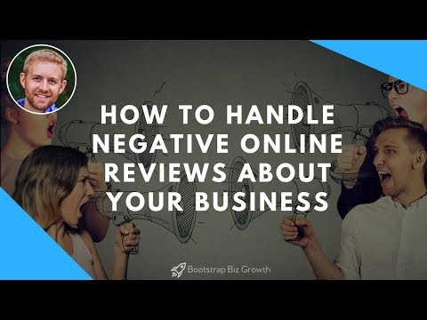How To Handle Negative Online Reviews About Your Business