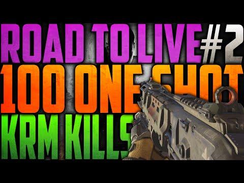 SLIDE & SCHIET! - 100 ONE SHOT KRM-262 KILLS #2 (COD: Black Ops 3)