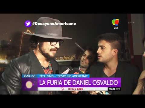 Daniel Osvaldo amenazó con golpear a un cronista