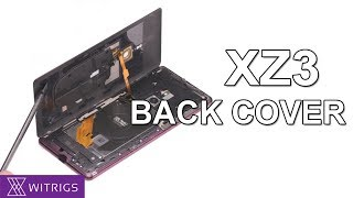 Sony Xperia XZ3 Back Cover Repair Guide