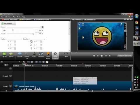 Tutorial Camtasia Studio 8 || Como hacer videos de buena calidad || Tutorial Avanzado [2/2]