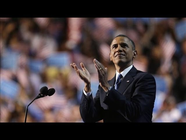 DNC 2012 - Barack Obama Accepts Democratic Nomination for Re-Election