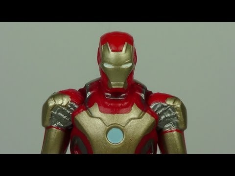 Iron Man 3 Mark 42 Assemblers 3 3/4 Inch Iron Man Movie Figure Review