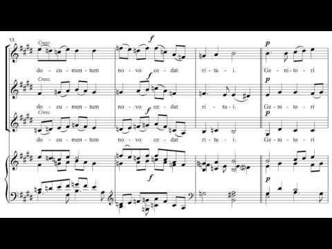 Gabriel Faure - Tantum ergo, Op. 65, No. 2