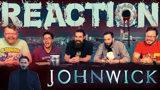 John Wick (2014) MOVIE REACTION!!