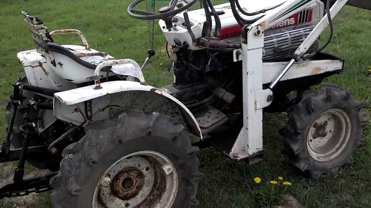 Bolens Tractor 4x4 : Bolens iseki g diesel tractor with front end