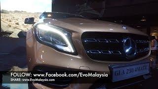 Evo Malaysia Com  2017 Mercedes Benz Gla 250 In Depth Walk Around