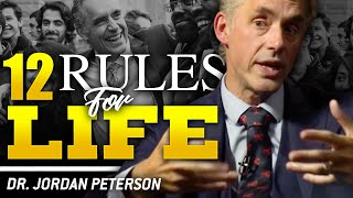 JORDAN PETERSON - 12 RULES FOR LIFE - HOW TO FIND AN ANTIDOTE FOR CHAOS | London Real