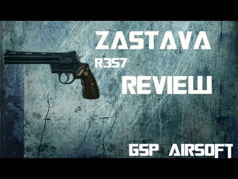 Zastava R357 Softair Review (GsP Airsoft) GERMAN