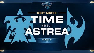 TIME vs Astrea TvP - Ro16 Group D Winners - WCS Winter Americas