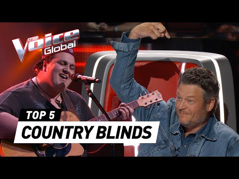 Download BEST COUNTRY BLIND AUDITIONS in The Voice