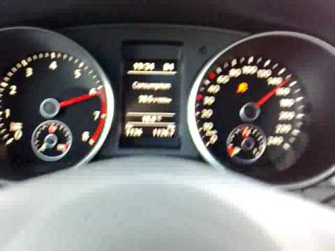 vw golf vi 1.4 tsi dsg 2010 160hp 118kw 240nm acceleration 0-100 0-160 - YouTube