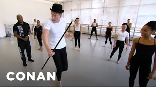 Conan Learns To Dance At Alvin Ailey  - CONAN on TBS