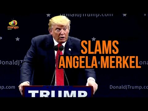 Donald Trump Strong Comments on Illegal Immigration | Trump Slams Angela Merkel